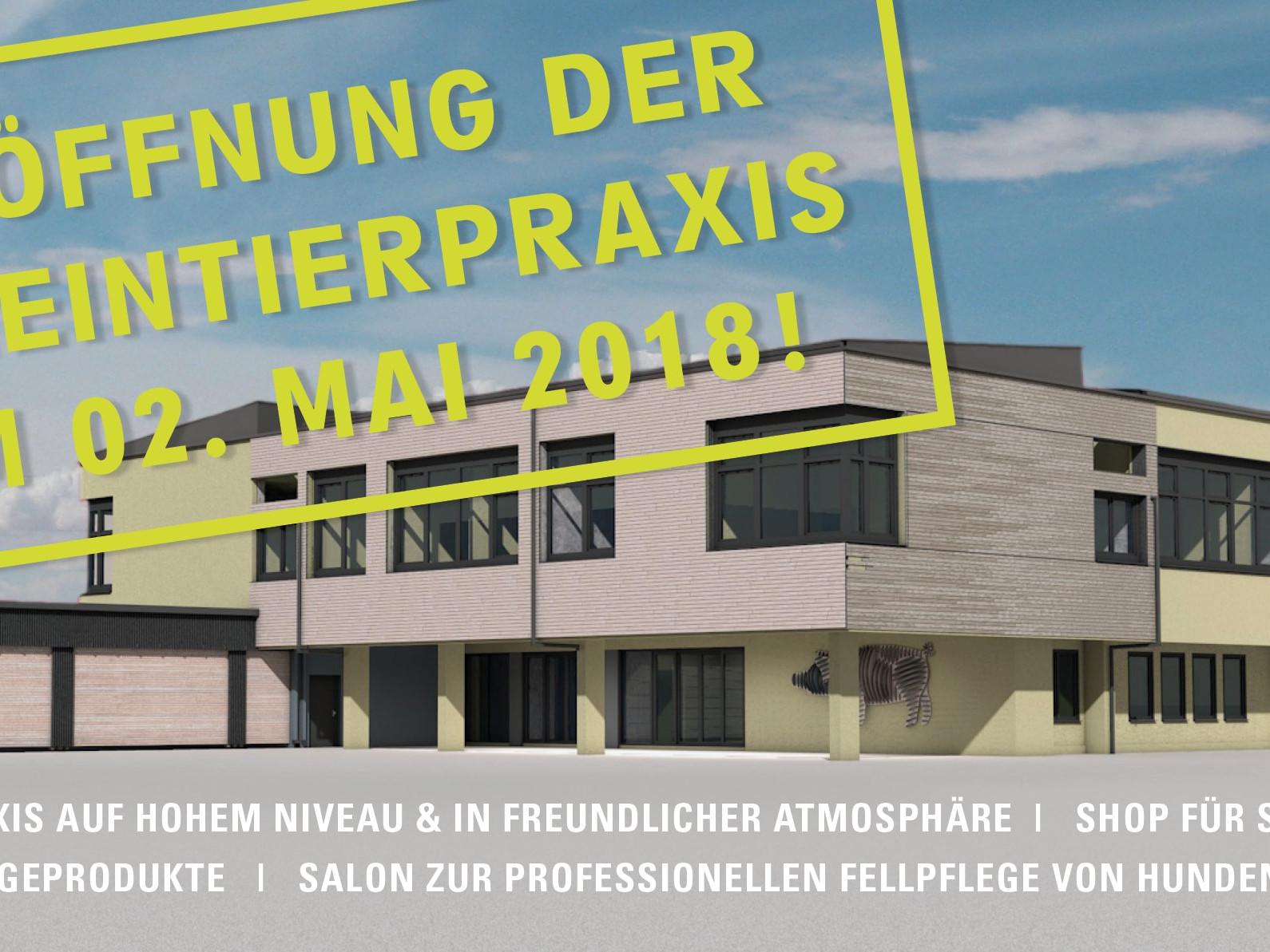 Eröffnung Kleintierpraxis Tierärzte Wonsees 02.Mai 2018